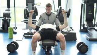 Power Boosting Gym Workout | Nike Academy