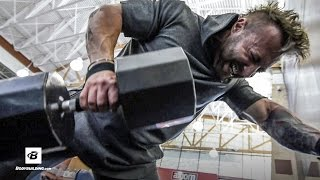 Intense Upper Back & Calves Workout | Day 5 | Kris Gethin's 8-Week Hardcore Training Program by Bodybuilding.com