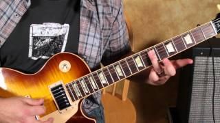 Blues Rock Guitar Lessons - A New Day Yesterday - Jethro Tull - Joe Bonamassa - Riffs