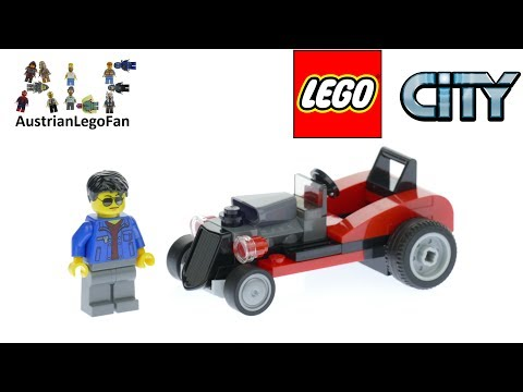 Vidéo LEGO City 30354 : Hot Rod (Polybag)