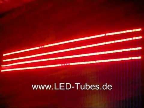 LED Stehtisch Beleuchtung Bistrotisch Lichtsystem