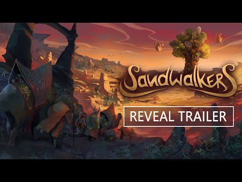 Sandwalkers : Official reveal trailer