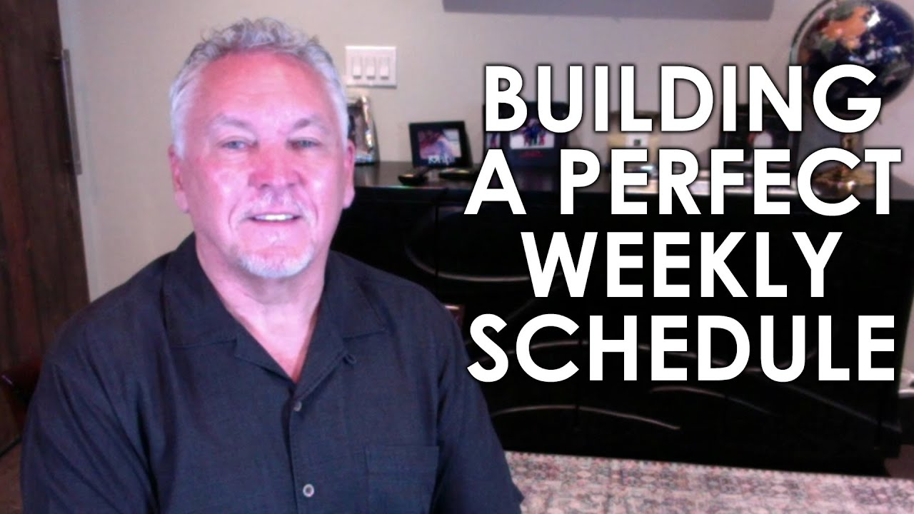 The Key to Changing Your Life & Business Is a Perfect Schedule