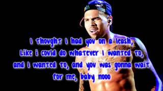 Open Road I Love Her  Chris Brown LYRICS   YouTube