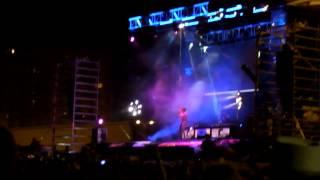 Angy Canta Boytoy en Cádiz. Gira 40 Hot Mix 2013. Cádiz