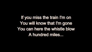 Five Hundred Miles Away From Home - Karaoke Track with Lyrics