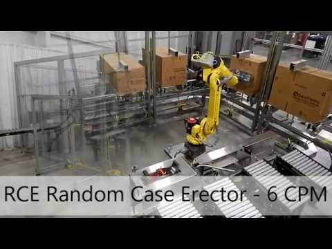 RCE Robotic Random Case Erector