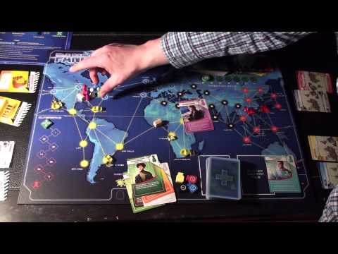 Pandemic Overview of Rules (3 of 5) - Player Roles