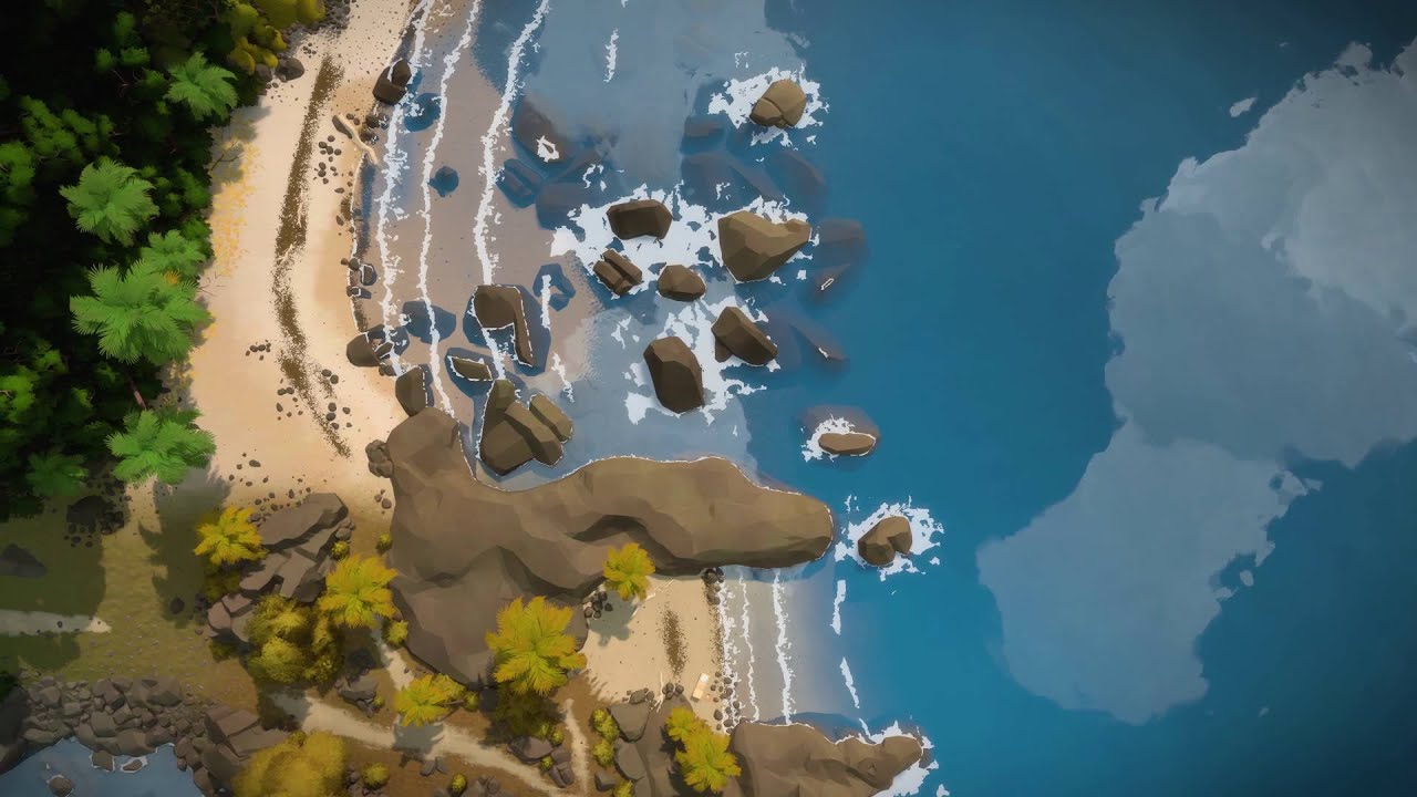 Jonathan Blow Posted A Strange New Look At The Witness