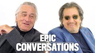 Robert De Niro and Al Pacino Have an Epic Conversation | GQ