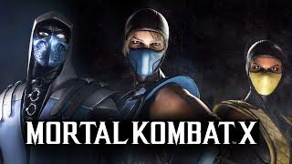 Mortal Kombat X -  ОБЗОР НОВЫХ КОСТЮМОВ!