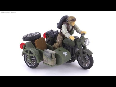 Mega Bloks Call of Duty Sidecar Pursuit review!