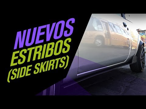 Como hacer e instalar estribos laterales // DIY SIDE SKIRTS