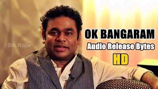 Ok Bangaram Audio Release Bytes by AR.Rahman, Mani Ratnam and Nani
