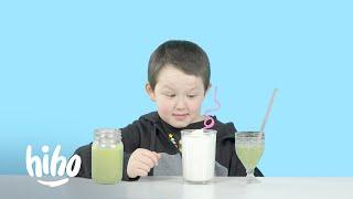Kids Try Blended Beverages | HiHo Kids
