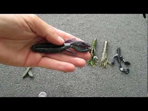 Fishing Tackle Set Up for Pitching to Bass