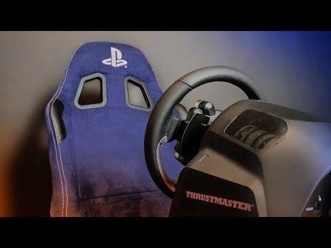 Cockpit de gaming pentru jocuri cu masini - PLAYSEAT cu VOLAN GT