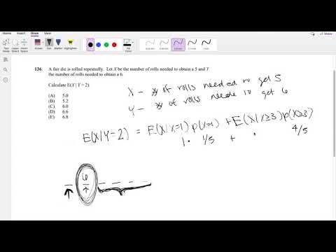 SOA Exam P Question 136   Conditional Probability - YouTube