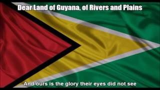 [National Anthem] Dear Land of Guyana, of Rivers and Plains - Nightcore Style With Lyrics