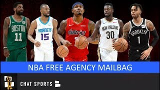 NBA Free Agency: Julius Randle To Mavs, D'Angelo Russell, Trades, Kyrie Irving Future | Mailbag