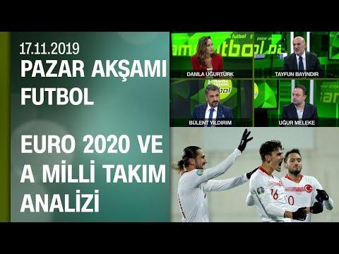Millilerin EURO 2020'ye uzanan öyküsü - Pazar Akşamı Futbol 17.11.2019 Pazar