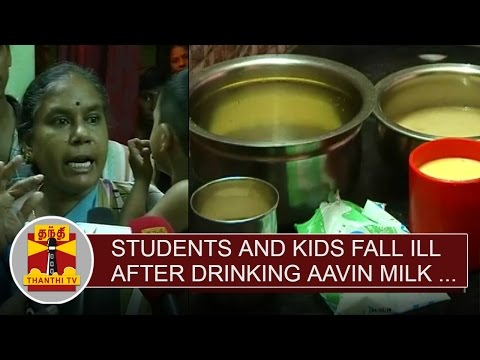 Students-and-Kids-fall-ill-after-drinking-Aavin-Milk-in-Salem-Thanthi-TV