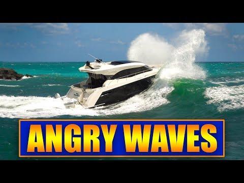 Boats vs ANGRY WAVES at Haulover Inlet