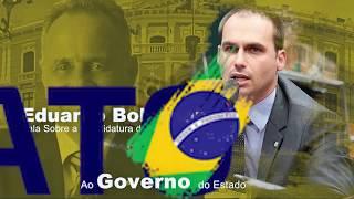 VT Eduardo Bolsonaro passa a missão para Manato