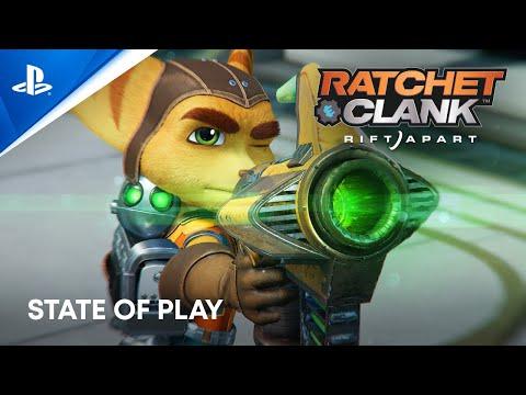 16 minutes du gameplay  de Ratchet & Clank : Rift Apart