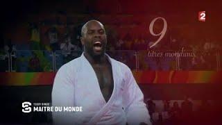 Le judoka français Teddy Riner maître du monde