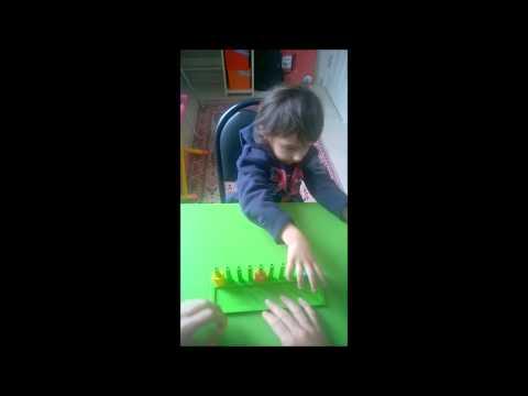 Işık Otizm / 3,5 yaşındaki semih'in 15 günlük gelişim videosu