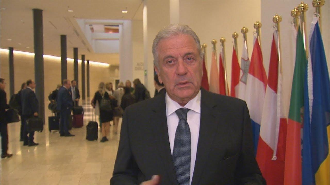 Ο Δ. Αβραμόπουλος στο Συμβούλιο υπουργών Δικαιοσύνης και Εσωτ. Υποθέσεων της ΕΕ