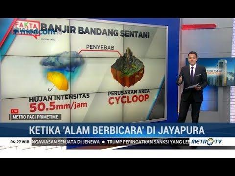 Fakta Akurat Banjir Bandang di Jayapura