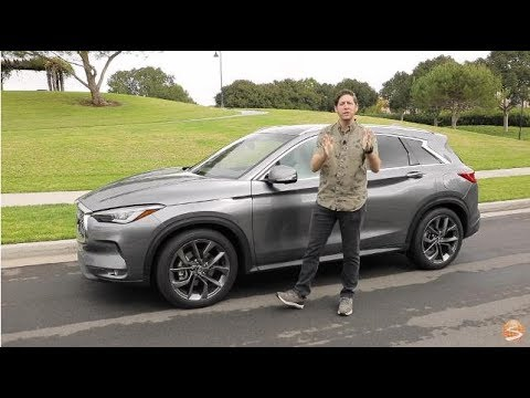 2019 Infiniti QX50 ESSENTIAL AWD First Drive Video Review (Variable Compression Turbo Engine)