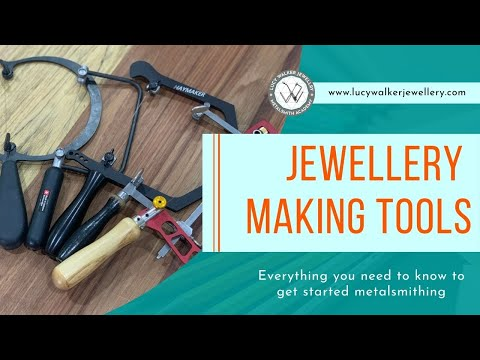 Jewelry Making Basics   Jewelry Making Tools You Absolutely Need To Start Metalsmithing!