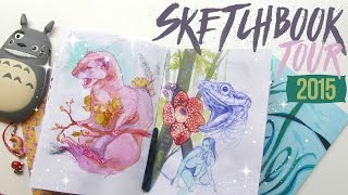 My Sketchbook Tour // 2015 Edition
