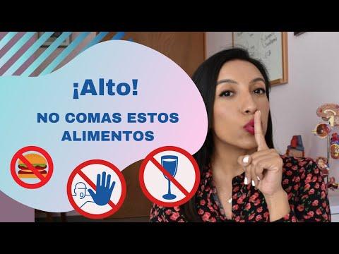 10 ALIMENTOS que NO debes comer si vives con DIABETES Dra. Zuraima Corona