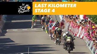 Finale der 4. Tour-Etappe