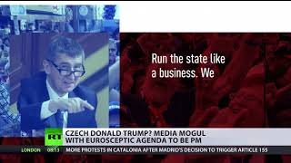 'Czech Donald Trump': Media mogul with Euroskeptic agenda to be PM