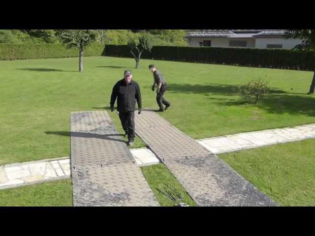 s:tek 38 · 10er Komplett-Set Bodenschutzplatten