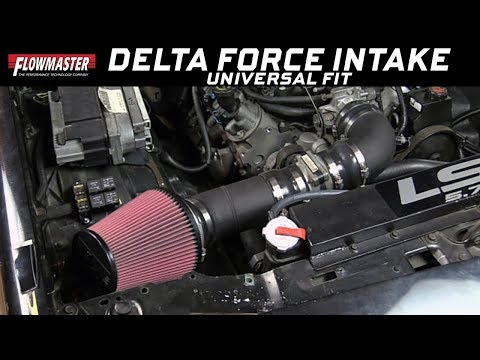 Install: Delta Force Universal Performance Air Intake System 615400
