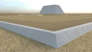 Egypt's Great Pyramid: How it was Constructed - The Inset Ramp