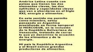 Cumbre ALC-UE-Discurso Cristina Fernández de Kirchner
