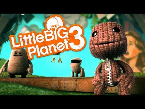 Little Big Planet 3 Gameplay Walkthrough -  FIRST LOOK (PS4 Gameplay)