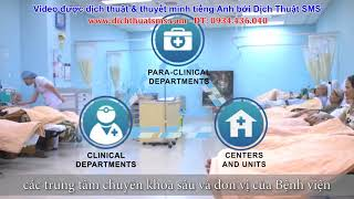 [Bệnh viện ĐH Y Dược] Thu voice tiếng Anh người bản ngữ (giọng Mỹ)