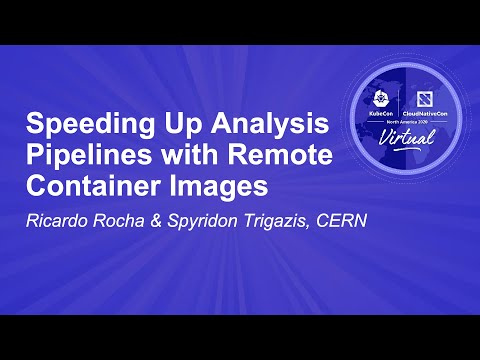 Image thumbnail for talk Speeding Up Analysis Pipelines with Remote Container Images