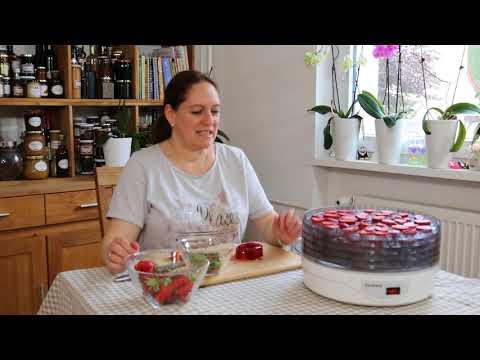 Erdbeerchips   leckerer Snack ohne Zuckerzusatz