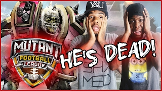 SUPERBOWL 51 WITH A TWIST! - Mutant Football League Gameplay