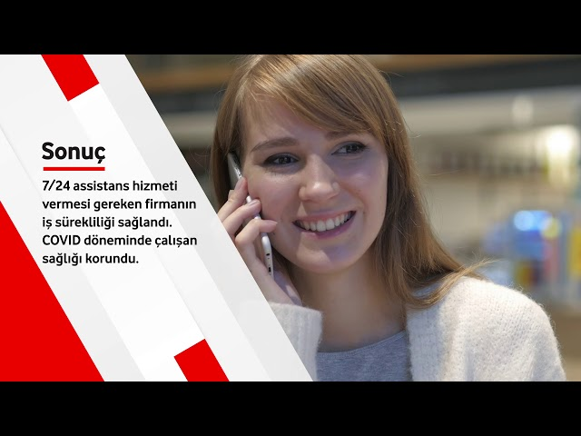 Vodafone Business Tur Assist'e nasıl destek oldu?