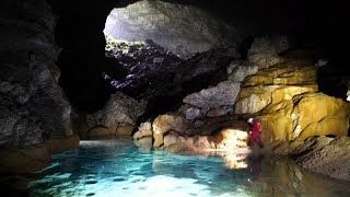 Watch: UK-China expedition discovers world-class cave hall